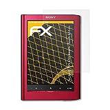 Sony PRS-650 Reader Touch Edition Displayschutzfolie - 2 x atFoliX FX-Antireflex blendfreie Folie...