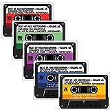 Kassette Einladungskarten Kassetten - 4 Farben zur Auswahl - Geburtstag Party - 30 Stück