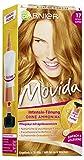 Garnier Tönung Movida Pflege-Creme, Intensiv-Tönung Haarfarbe 17 Goldkupfer (für leuchtende Farben, auch für graues Haar, ohne Ammoniak), 3er Pack