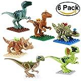 ROSENICE Dinosaurier Spielzeug 6 Stücke Dinosaurier Figuren Kunststoff Dinosaurier Kindergeburtstag...