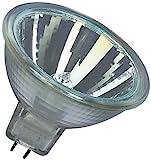 Osram 10-er Set Decostar EEK B 51s 12 Volt 35 Watt Sockel Gu5,3 36 Halogenlampe mit Kaltlichtspiegelreflektor und Abdeckscheibe, Durchmesser 51 mm 44865WFL