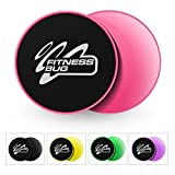 FitnessBug 2x Core Regler Gleitscheiben Fitness Gym ABS Training Core Workout