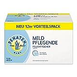 Penaten Mild Pflegende Feuchttücher (Babypflegetücher ohne Alkohol, dermatologisch getestet) Vorteilspack: 12 x 56 Stück