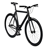 bonvelo Singlespeed Fahrrad Blizz 'Back to Black' (XL / 59cm für Körpergrößen ab 181cm)