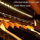 Amagle Flexible 3.28ft LED Streifen Licht, Motion Sensor Aktiviert Streifen Beleuchtung 3000K für...