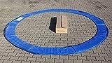 Selltex Trampolin Federkranz Abdeckung blau 244 305 366 395 427 cm Kranz Federkranz (427)