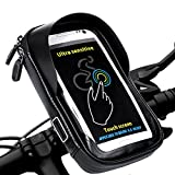 Wasserdicht Fahrradlenkertasche LEMEGO Handyhalterung Handyhalter Fahrrad Tasche Fahrradtasche...