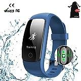 Fitness Armband,MUXI Fitness Tracker mit Herzfrequenz Pulsuhr Aktivitätstracker mit...