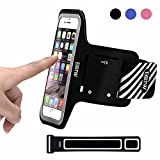 EOTW iPhone 6 Armband, Sport Armband für Apple iPhone 6 6S 5 5S 5C, Samsung Galaxy S6/S5/S4/S3,...