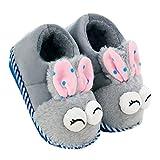 Kinder Pantoffeln, Warme Hausschuhe, Winter Indoor Pantoffeln, Plüsch Hausschuhe, Wärme Weiche...