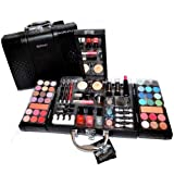 Exclusive Kosmetik Make-up Kunstleder Beautycase SCHMINKKOFFER 63 teilig (e797)