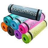 #DoYourFitness Fitnessmatte/Gymnstikmatte | weiche, rutschfeste Oberfläche ideal für Fitness Yoga...