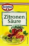 Dr. Oetker Zitronensäure, (5 x 5 g)