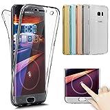Etsue 360 Grad Handyhülle für Samsung Galaxy Note 8 Full Cover Vorne & Hinten Rundum Doppel-Schutz...