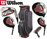 Wilson Prostaff Hl Graphit Graphit Eisen & HDX HDX Woods Super Deluxe Herren Golfset, & Prostaff...