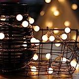 Lichterkette, von myCozyLite®, LED Lichterkette mit timer, EU Stecker, 15m, 100er, Globe,...
