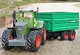 RC Traktor FENDT 1050 + Anhänger in XL Länge 74cm 'Ferngesteuert'