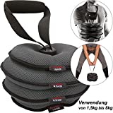 C.P. Sports Softkettlebells Kettlebelts Kettle Belt verstellbar von 2 kg, 4 kg, 6 kg, 8 kg