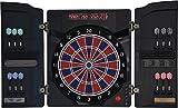 Elektronische Dartscheibe Dartona CB40 Cabinett - Turnierscheibe mit 27 Spielen und über 150...