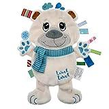 Vital Innovations LL-FR1211 Label Schmusetier Friends 'Eisbär', weiß