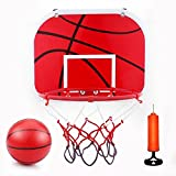 Mini Basketball Set fürs Zimmer mit Ball und Pumpe für Kinder