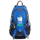 EGOGO 30L Wasserdicht Wanderrucksack Camping Rucksack mit Regenschutz Laufen Radfahren im freien...