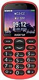 Aligator A880 Seniorenhandy mit SOS Taste und GPS Locator, 4,84 x 2,56 x 0,47 Zoll rot