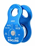 Edelrid Seilrolle Turn pulley, blue, One Size, 717890003000