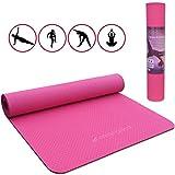 Malaika Yoga- und Fitnessmatte, Sportmatte | für Yoga, Pilates, Funktionales Training uvm. | inkl....