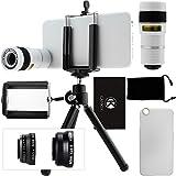 iPhone 6 / 6S Kamera-Objektiv-Set mit einem 8x Teleobjektiv / Fisheye Objektiv / 2 in 1...