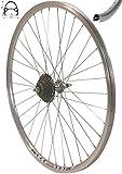 Redondo 28 Zoll Laufrad Hinterrad inkl. 7 Fach Shimano Schraubkranz Felge Alu Rad Fahrrad