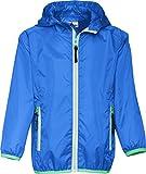 Playshoes Unisex Regenmantel Regenjacke, Funktionsjacke mit Aufbewahrungsbeutel, Blau (Blau 7), 128