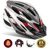 Shinmax Specialized Bike Helm mit Sicherheitslicht, Verstellbare Sport Fahrradhelm Fahrrad...