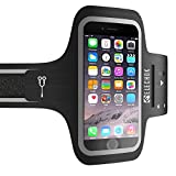 ELECHOK Schweißfest Sport Armband Fitness Universell Handyhülle iPhone-ID Touch-Mit...