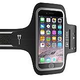 ELECHOK Schweißfest Sport Armband Fitness Universell Handyhülle iPhone-ID Touch-Mit...