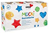 Mucki 24160 - Bastelfarben 6er Set