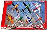 Disney Planes 7-teiliges Flieger Set 'Wings around the Golbe' - Sun -Wing - Jan Kowalski - LJH 86...