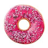 Donutkissen Weiche Plüsch Kissen Stuffed Sitz Pad Süße Donut Lebensmittel Kissenbezug Fall...