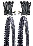 2 x Kenda MTB Reifen Fahrradreifen 26 Zoll 54-559 26 x 2.10 inklusive 2 x Schlauch mit Autoventil