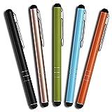 5 Stück Premium Eingabestift Touchstift Stylus Pen für Iphone 8 7 7s 6 6s 5 6s 4 4s plus, Ipad 5 4...
