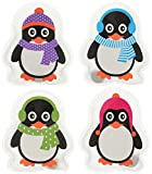Hand- & Taschenwärmer COLOURFUL PENGUINS 4er Set