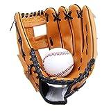 Yiiquan Unisex Batting Baseball Einem Ball Softball Handschuhes Outfield Handschuhe Dicker für...