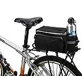 Fahrrad Satteltasche,7L Multifunktions Fahrrad Radfahren Sport Wasserdicht hinten Sitz Rucksäcke...