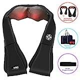 [2018 Neues Design] MRQ Massagegerät für Nacken, Rücken, Bauch, Schulter und Beine mit extra...