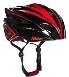 AWE aweblade  in-mould helm volwassenen mannen wielrennen 58–61cm Zwart Rood