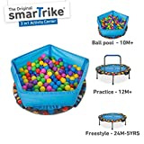 smarTrike 920-0000 3-in-1 Kinder Trampolin, Blau