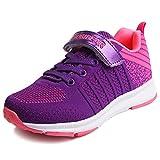 Sneaker Mädchen Laufschuhe Jungen Hallenschuhe Jungen Outdoor Sportart Schuhe Low-Top für Unisex-Kinder Pink - EU 33