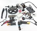 48V 450W elektrische Mountainbike Mid-Drive Umbausatz Elektro Bike Kit Diy E-Bike Teile