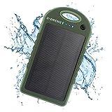 X-DNENG Solar Ladegerät 12000mAh Regen-resistenten Schmutz / Shockproof Dual USB Ports Portable...