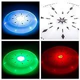 LED Frisbee Scheibe - der leuchtende Flying Disk auch am Abend